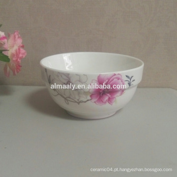 Sopa de porcelana tigela de arroz tigela de aveia