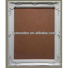 wooden cork board frame