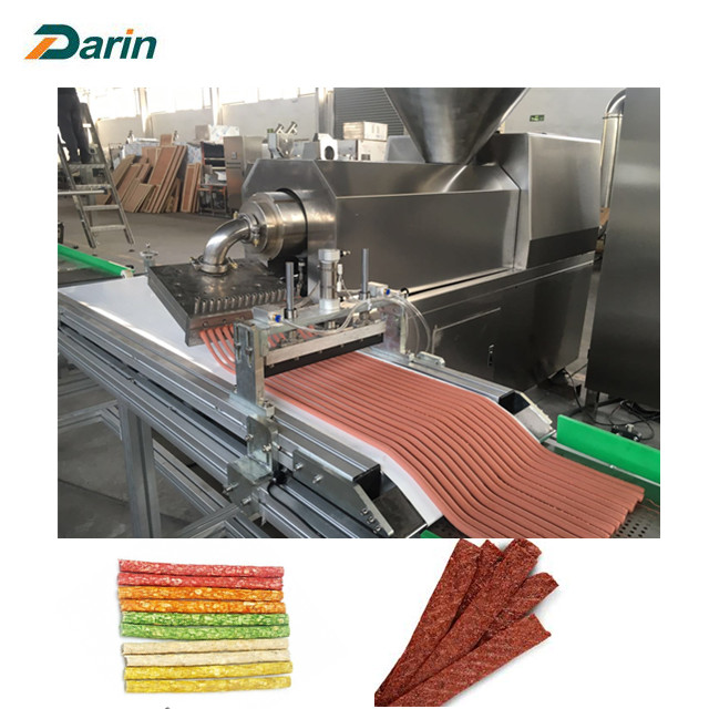 Aplikasi Dog Meat Meat Meat Strip Processing Line