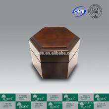 Urnas para venda LUXES Poplar sólido madeira Urn UN30 Urn da cremação