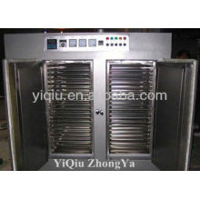 Energy saving cart tray dryer machine and dryer ovens