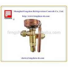 Válvulas de expansión controladas por temperatura para compresor