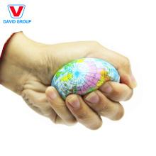 Boule anti-stress colorée faite sur commande de boule anti-stress