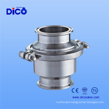 Food Grade Check Valve with Clamp End