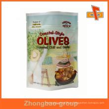 Stand up bolsa de embalaje de alimentos secos a prueba de humedad con excelente impresión