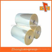 Guangdong manufacturer!! Eco-friendly PET plastic bottle shrink film with high shrinkage