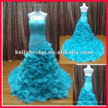 blue wedding dress prom dress cocktail dress 2012