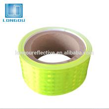 маркировочная лента безопасности конус ПВХ светоотражающие ленты