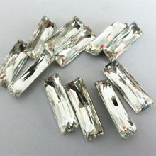 Hotsale Crystal Fancy Stone avec griffe pour accessoires de vêtement