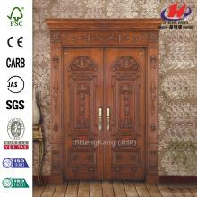 Wood Carving Door Hardware Double Interior Doors