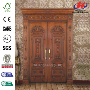 Wood Carving Door Hardware Double Interior Doors