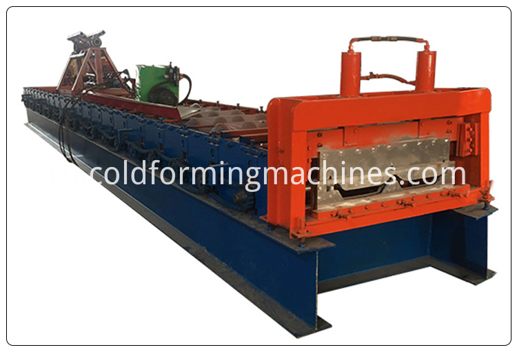 3 joint hidden roof forming machine