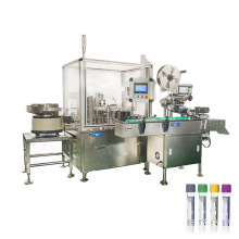 Automatic Test Tube Filling Machine for Plasma 5 ml liquid filling machin