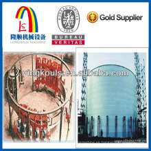 Máquina formadora de silos de grano LS-1500 Acero galvanizado