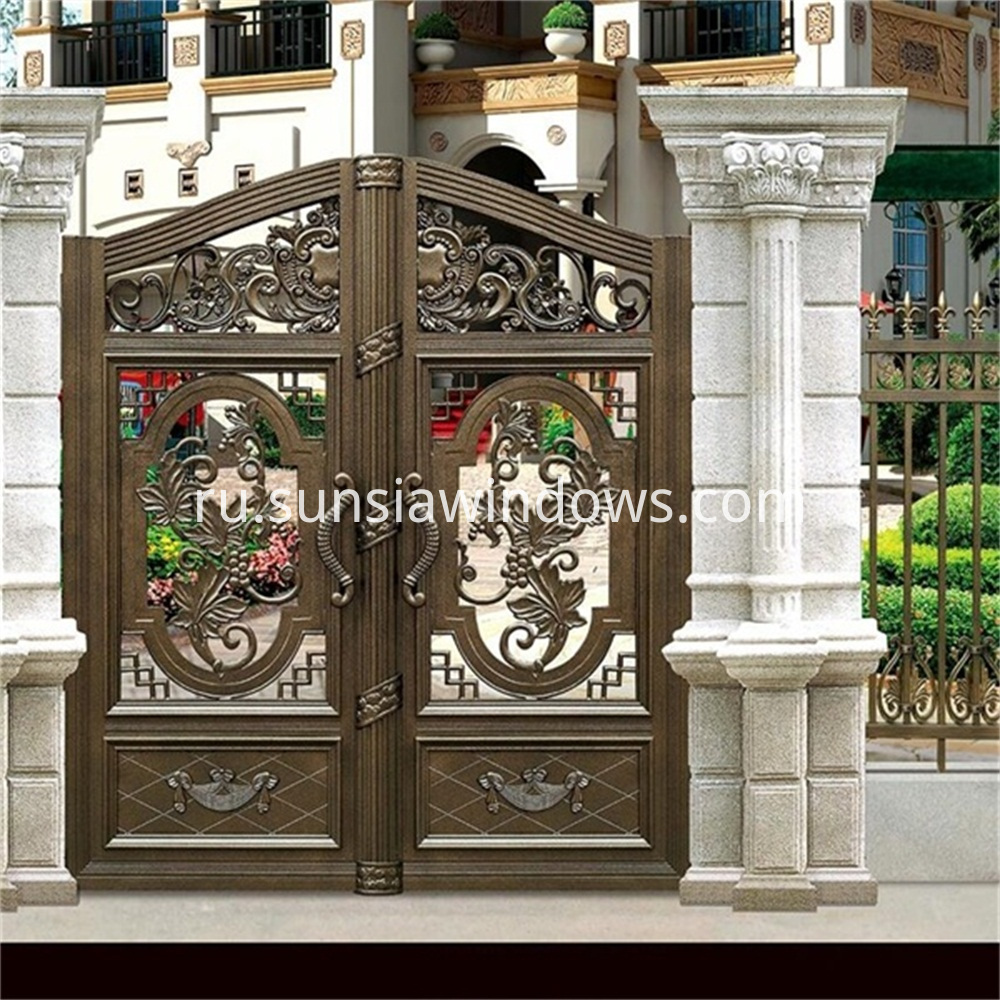Aluminum Outdoor Gate