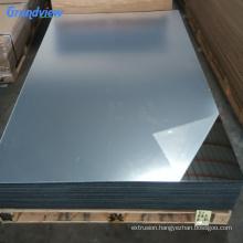 Silver/gold color flexible mirror plastic acrylic sheet