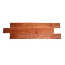 Red brown oak solid wood composite SPC flooring