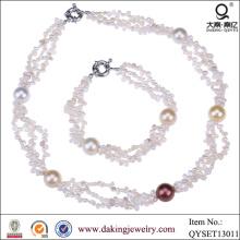Горячие продажи ожерелье и браслет ювелирные изделия Оптовая Новые товары
