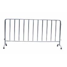 Barrière temporaire d'isolement de barrière de municiple d'acier inoxydable