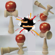 Beech Wood Pearl Kendama Toy