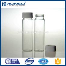 toc Durchstechflasche Klarglas 40ml EPA VOA für Umgebungsversuch