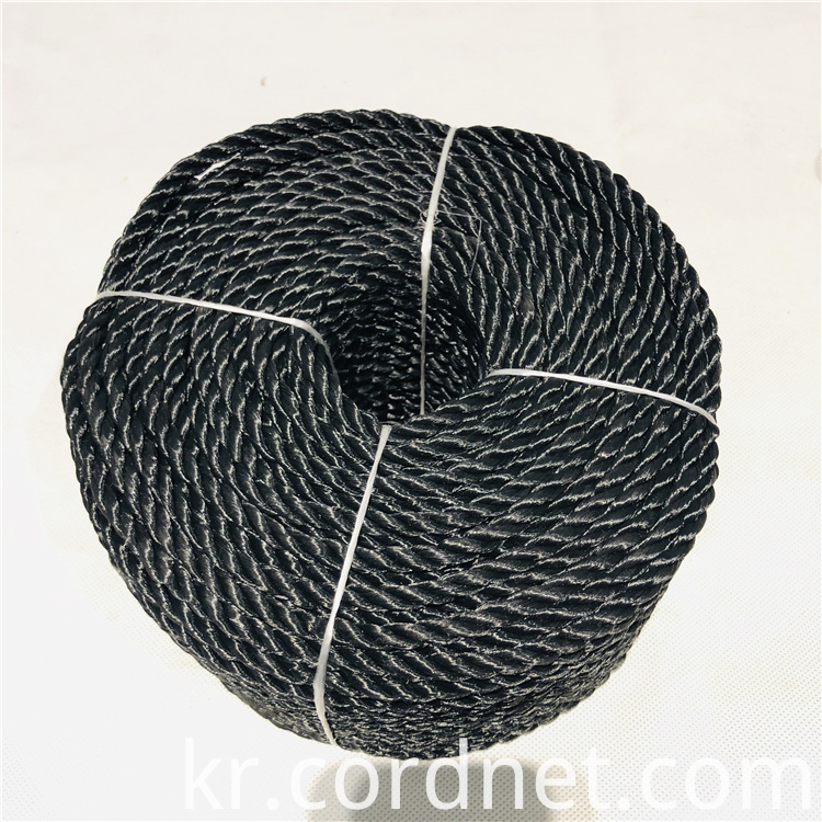Black Pp Multi Twist Rope 4
