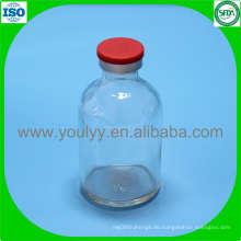 50ml klare geformte Flasche