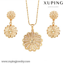 62424-Xuping Fashion Damen Schmuckset mit 18 Karat Vergoldet