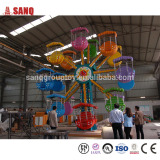 China Manufacturer Cheap Amusement Park Rides Kids Mini Ferris Wheel For Sale With 32 Seats