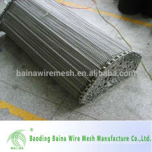 High load stainless steel wire belt