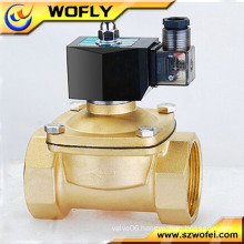 high pressure welding machine gas solenoid valve opening without pressure