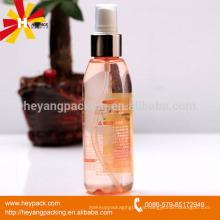 Botella plástica transparente del ANIMAL DOMÉSTICO 120ml con el pulverizador de la bomba