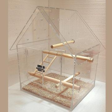 Spezieller klare Acryl Vogelkäfig, Lagerung Plexiglas Vogel Hamster Käfig