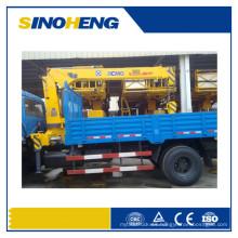 China XCMG Sq5zk3q grúa montada camión del auge del nudillo de 5 toneladas