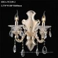 Glaswand Kronleuchter Leuchten Schlafzimmer