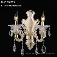 lustre de parede de vidro luminárias quarto