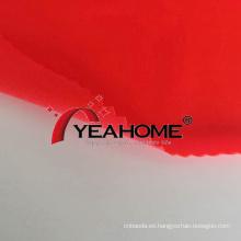 Tela de cubierta a prueba de polvo de tela elástica tejida de poliéster brillante