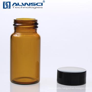 Gas liquid chromatography amber storage glass vial 20 ml