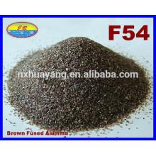 F16-220 # óxido de alumínio marrom abrasivo (BFA) para jateamento de areia