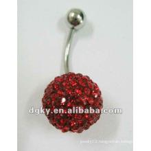 stainless steel body piercing jewelry Fancy Navel Jewelry