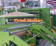 Spray-bonded Polyester Wadding Nonwoven Plant