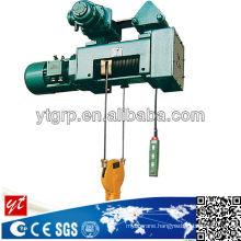 10t, 415V electric hoist with trolley explosion proof type