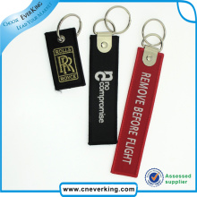Polyester Embroidery Key Ring Hot Sale