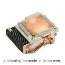 Radiateur à chaleur en fonte d'aluminium pour machine utilisée