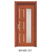 Preço baixo Excelente qualidade Porta de melamina Hotsale (WX-ME-107)