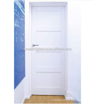 Nuevo diseño White Shaker Puerta interior de madera