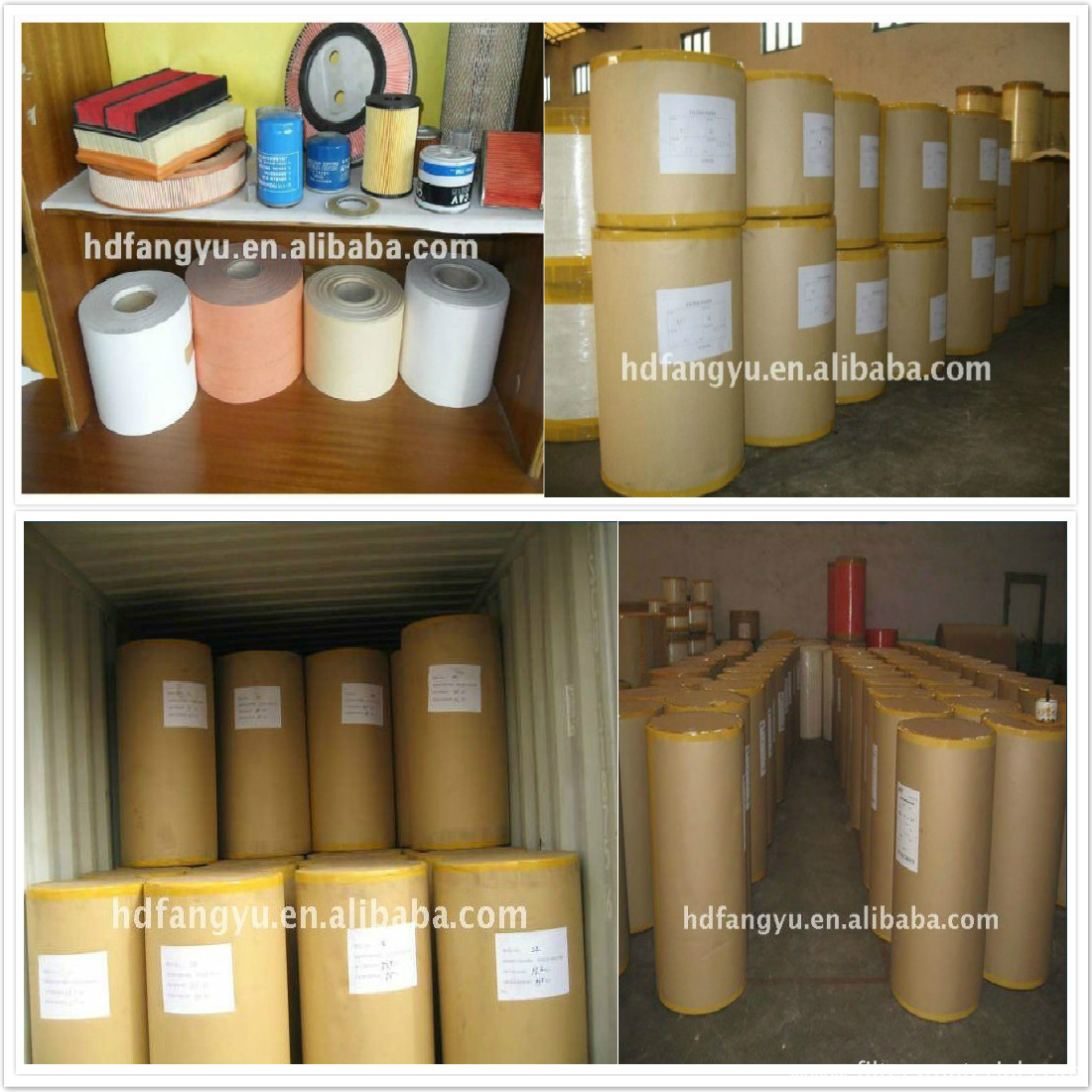 Packing of Auto Air Filter Paper