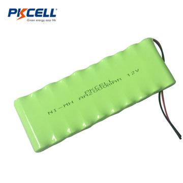 NI-MH 12V 2000mAh Bateria recarregável para brinquedos