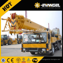 70 ton boom arm crane truck QY70K-I in Ethiopia