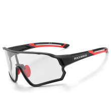 Polarized Discoloration Windproof Myopia Cycling Glasses Running Driving Bicycle Sports Sunglasses